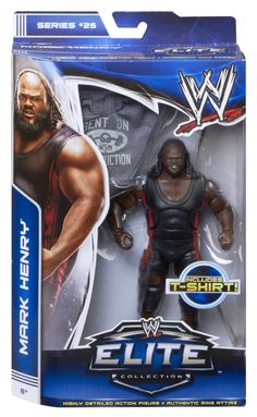 Amazon.com: WWE Elite Collection Mark Henry Action Figure: Toys & Games
