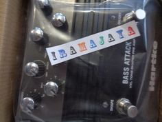 Bass attack pedal Hartke