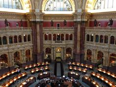"Library of Congress Tours should be at the top of your ""must-see"" list for Washington D.C.  Here are 5 tips to make the tour easy and enjoyable!"