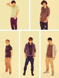 their first ever photoshoot.liam looks like justin bieber