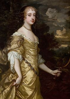 1662-1665 Frances Teresa Stuart by Sir Peter Lely from mym's photostream on flickr