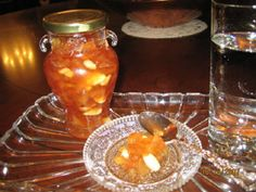 They are here,,,They only come when the weather gets cool....Quince preserves..Litsa B recipes,with love!