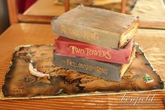 Benfield Photography Blog: Chemistry Themed Wedding Details! Lord of the Rings Groom's Cake.