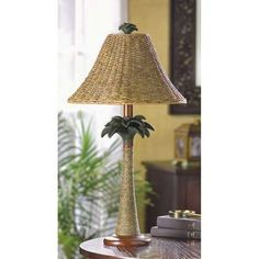 Palm Tree Lamp | Lexi's Kreationz, LLC | http://lexiskreationz.storenvy.com/products/976205-palm-tree-lamp