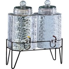 Double 1.5-Gallon Beverage Dispenser (Set of 2) at Joss and Main