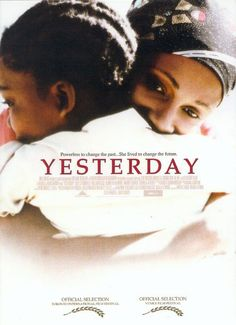 """OMG this film will bring you to tears!!!! :*(   The only movie in history to be nominated for both an Oscar (for Best Foreign Language Film) AND nominated for an Emmy (for Outstanding Made for TV Movie-HBO) in the same year. It didn't win either award BUT SHOULD HAVE! """"Yesterday"""" - A Powerful lesson in the power of forgiveness!"""
