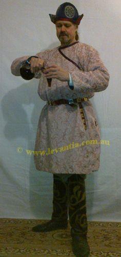 Seljuk turkish clothing - Male