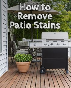 Stain Cleaner Clean Patio Patio Stain Plastic Patio Furniture