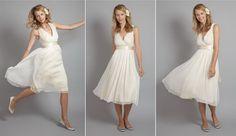 Vestidos novias cortos sencillos