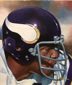 Carl Eller, Minnesota Vikings by Dan Stromme Nfl Football Players, Best Football Team, Football Photos, Football Memes, Sport Football, Equipo Minnesota Vikings, Minnesota Vikings Football, Sports Mix, Sports Stadium