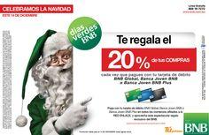 BNB Marketing - Celebra la Navidad con los Días Verdes del BNB