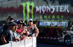 Monster Energy at the track: Las Vegas weekend  Saturday, March 11, 2017  Race fans look on during practice for the Monster Energy NASCAR Cup Series Kobalt 400 at Las Vegas Motor Speedway on March 11, 2017 in Las Vegas, Nevada.  Photo Credit: Getty Images  Photo: 7 / 7