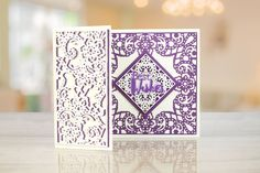 The Paisley Parade Collection features brand new shaped interlocking dies that offer more multi-use and more intricate detailing to create an extremely versatile die Tattered Lace Cards, Shaped Cards, Easel Cards, Crafts To Make And Sell, Die Cut Cards, Lace Design, Paper Crafts, Card Crafts, Cardmaking