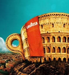 """Lavazza, """"The art of coffee from the heart of Italy"""""""