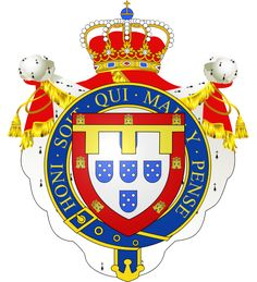 Blason de Louis-Philippe de Portugal