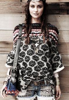 Bohemian Style  Serafini Amelia  Boho Styling