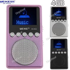 http://www.tinydeal.com/it/weike-wk-m502-lcd-display-4gb-digital-mp3-music-player-p-80264.html (WEIKE) WK-M502 LCD Display Digital 4GB Memory MP3 Player Music Player
