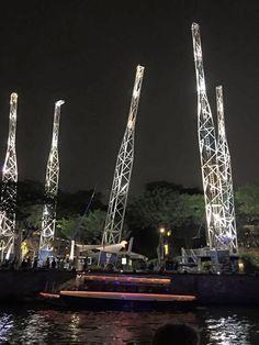 Singapore's reverse bungee jump