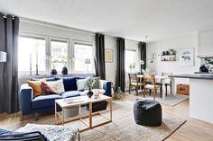 sin paredes planta abierta open plan inspiración nórdica distribución abierta diáfano decoración interiores blog decoración nórdica