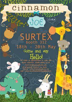 print & pattern: SURTEX 2014 - cinnamon joe