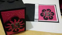 Convite e caixa lembrancinha