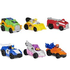 """Amazon has the PAW Patrol, True Metal Movie Gift Pack of 6 Collectible Die-Cast Toy Cars, 1:55 Scale, Kids Toys for Ages 3 and up marked down from $26.99 to $11.89. That is 56% off retail price! TO GET THIS DEAL: GO HERE to go to the product page and click on """"Add to Cart""""…"""