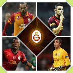 Sneijder!14 - Burak!17 - Drogba!12 - Muslera!25 <3