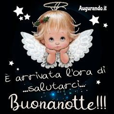 Italian Quotes, Good Night, Christmas Ornaments, Holiday Decor, Facebook, Luigi, Madonna, Gifs, Messages