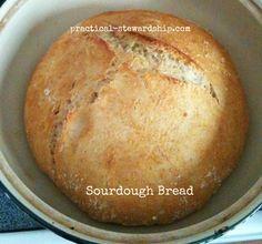Sourdough Bread @ practical-stewardship.com
