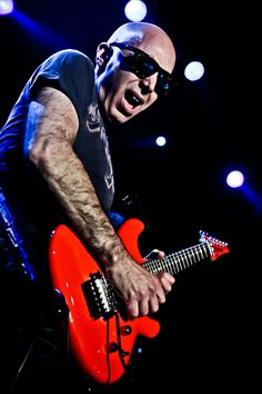 "MUSIC FANS and PROFESSIONAL MUSICIANS AGREE!!   ""Ted: Your music reminds me of this wonderful musician, Joe Satriani - Flying In A Blue Dream (Satriani LIVE!  Satriani LIVE! - 2006.' - Laura M., a Music Fan, from Delray Beach, Florida, USA.  HAVE YOU HEARD what you HAVEN'T LISTENED to YET? PLEASE CLICK THROUGH the GRAPHIC.  Also, VISIT WWW.REVERBNATION.COM/TEDPALMER and add some Joe Satriani to your music collection!!   Joe Satriani (Inset).  #HARDROCKMUSIC #GUITARIST  #KEYBOARDIST"