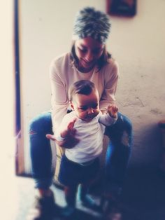 Mom style * me and my baby * ties