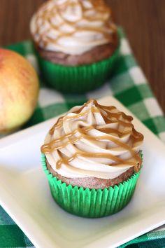 gluten free vegan caramel apple cupcakes | Sarah, Baking Gluten Free « G-Free Foodie