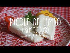 Picolé de Limão Cremoso - gordelícias