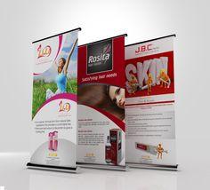Roll-Up design roll-up design banner design inspiration, roll up design і. Pull Up Banner Design, Roll Up Design, Pop Up Banner, Portfolio Layout, Portfolio Design, Layout Design, Web Design, Banner Design Inspiration, Vintage Space
