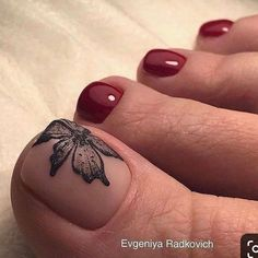 New nails toe simple nailart 21 ideas 51 adorable toe nail designs for this summer adorable designs nail summer toe Pretty Toe Nails, Cute Toe Nails, Pretty Toes, Gorgeous Nails, My Nails, Toe Nail Color, Toe Nail Art, Pedicure Nail Art, Pedicure Ideas