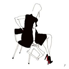 TALON AIGUILLE #satanétalon #talonaiguille #semellerouge #louboutin #shoes #illustration #drawing #dessin #art @louboutinworld