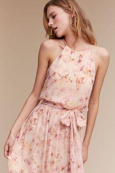 Blush Wildflower Alana Dress | BHLDN