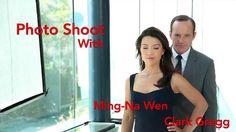Marvel's Agents of S.H.I.E.L.D. Photo shoot! Clark Gregg! Ming-Na Wen! Iain De Caestecker and Elizabeth Henstridge