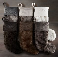 Keep your mantel warm and cozy with a Knit Stocking from Pier 1 ...