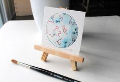 Streptokokken Wissenschaft Bakterien-Kunst von sandraculliton