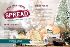 Holiday Herb Cheese Ball