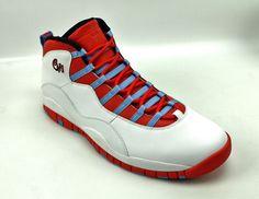 new arrival 3154b 3c9c0 Nike Air Jordan Retro 10 Chicago White Crimson Blue 310805-114 Shoes Mens  15  Nike  AthleticSneakers  weboys10