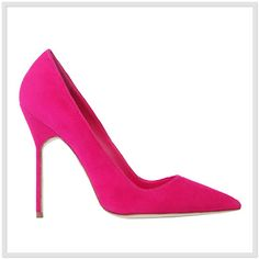 Manolo Blahnik Shoes 2013 PERFECT Barbie shoe!