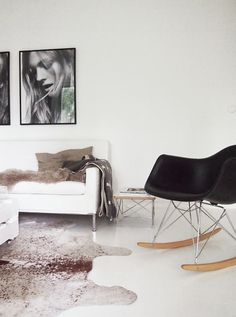 239 best cowhide rugs in rooms images home decor homes houses rh pinterest com