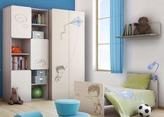 Baby-mania.com vous souhaite une très heureuse année 2015. NOUVEAUTE 2015 Collection 2PIR Baby VOX. Superbe chambre bébé évolutive pour votre petit garçon couleur GRIS BEIGE 5 éléments avec un lit 140x70 cm transformable en lit junior,une commode avec plan à langer, une armoire 2 portes, une grande bibliothèque et une étagère murale. http://www.baby-mania.com/Chambres-bébé-complètes-évolutives-140x70/BABY-VOX-2PIR-Garçon-5-éléments Prix 1048 euros au lieu de 1165 euros avec le code…