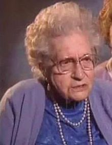 Edith Brown who was 15 years old when she survived the Titanic's sinking, was best known for appearing at a ceremony in 1993 during which she was presented with her father's pocket watch that had been recovered from the Titanic wreckage. Edith Brown Haisman died in Southampton in 1997 at the age of 100.