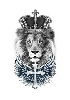 The lion- These lions are cool and they are the king of the animals that never move with him and he is the most ferocious. Lion Leg Tattoo, Lion Tattoo With Crown, Lion Forearm Tattoos, Lion Tattoo Sleeves, Lion Head Tattoos, Forarm Tattoos, Best Sleeve Tattoos, Forearm Tattoo Men, Tattoo Sleeve Designs