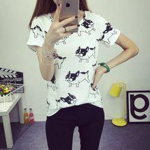 Verano 2016 mujeres de La Camiseta para mujer camisetas ropa de moda coreano camiseta femme mujeres tumblr camisetas roupa feminina(China (Mainland))