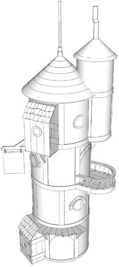 Pryn-gul CAD Model  -- From brandlin.blogspot.com