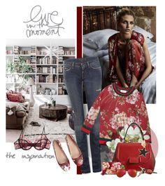 """Saturday Blooms"" by jacque-reid ❤ liked on Polyvore featuring мода, Dolce&Gabbana, Gucci, Kiki de Montparnasse, Fendi, STELLA McCARTNEY и Yves Saint Laurent"